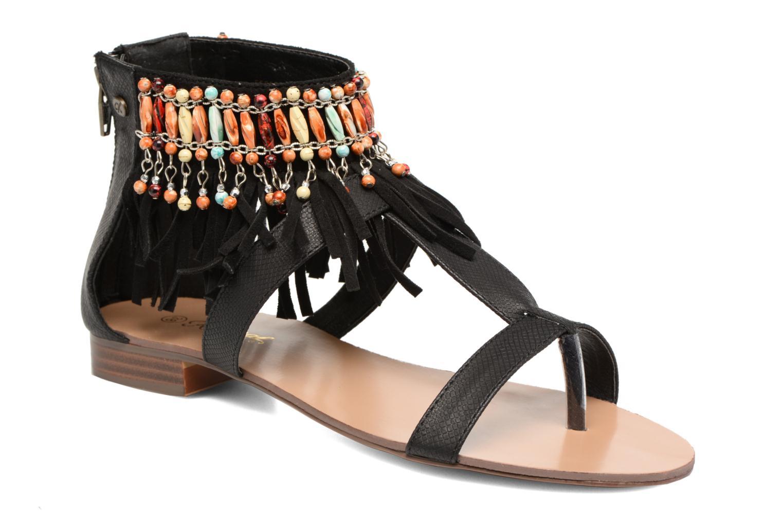 Grandes Loisi descuentos últimos zapatos Kaporal Loisi Grandes (Negro) - Sandalias Descuento b9806a