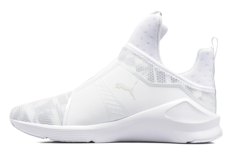 Chaussures de sport Puma WNS Fierce Swan Blanc vue face