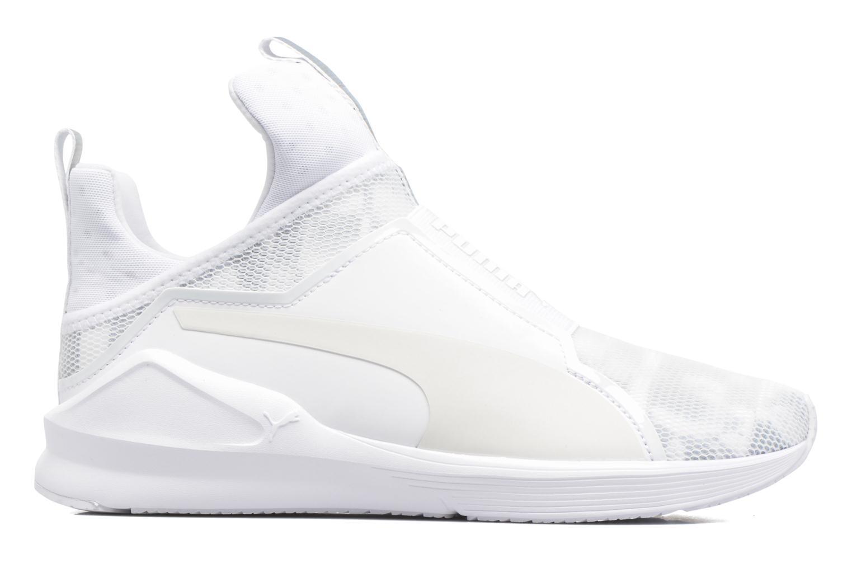 Chaussures de sport Puma WNS Fierce Swan Blanc vue derrière