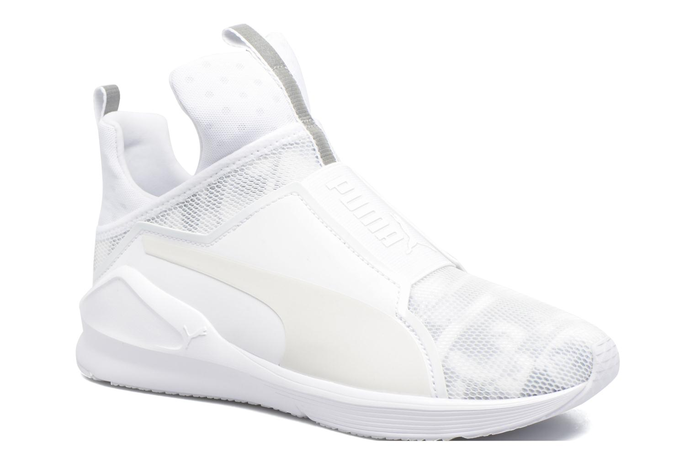 Chaussures de sport Puma WNS Fierce Swan Blanc vue détail/paire
