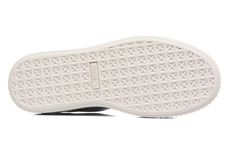 Wns Basket Platform Patent Lavendar
