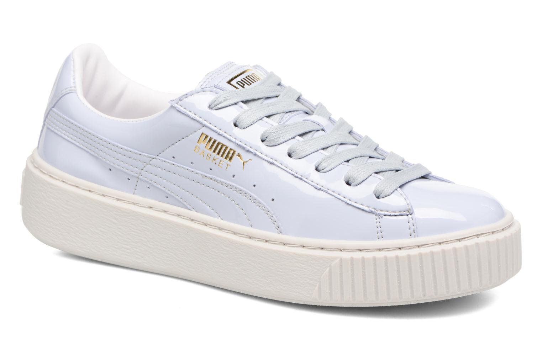 Zapatos promocionales Puma Wns Basket Platform Patent (Azul) - Deportivas   Gran descuento
