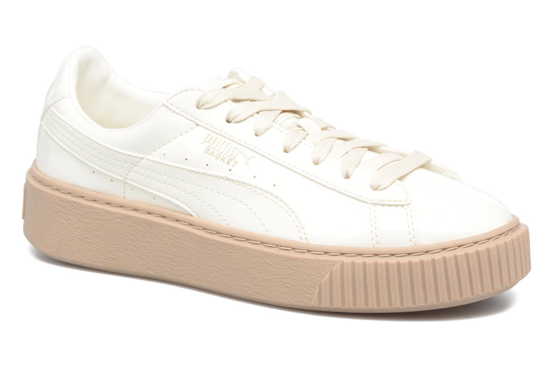 Zapatos promocionales Puma Wns Basket Platform Patent (Beige) - Deportivas   Descuento de la marca