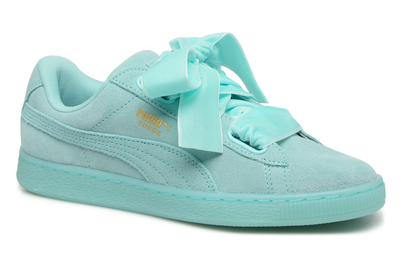Zapatos promocionales Puma Suede Heart Reset Wn's (Azul) - Deportivas   Casual salvaje