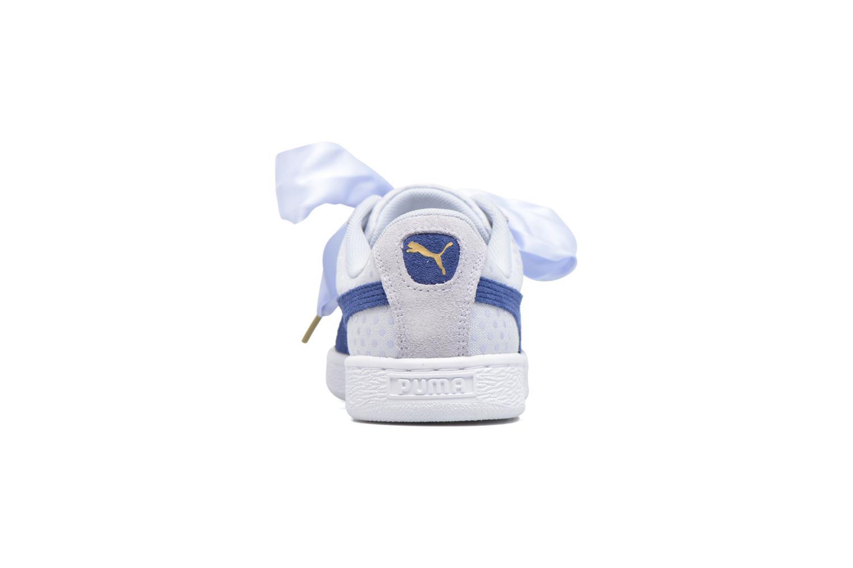 Baskets Puma Basket Heart Denim Wn's Bleu vue droite