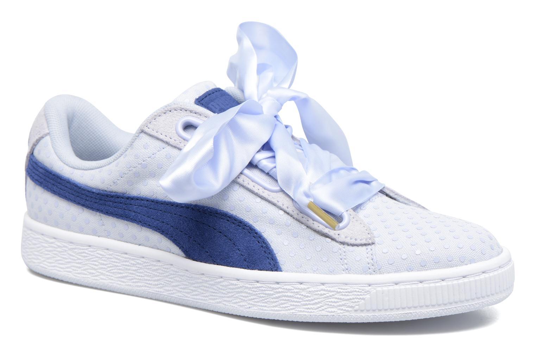 Baskets Puma Basket Heart Denim Wn's Bleu vue détail/paire