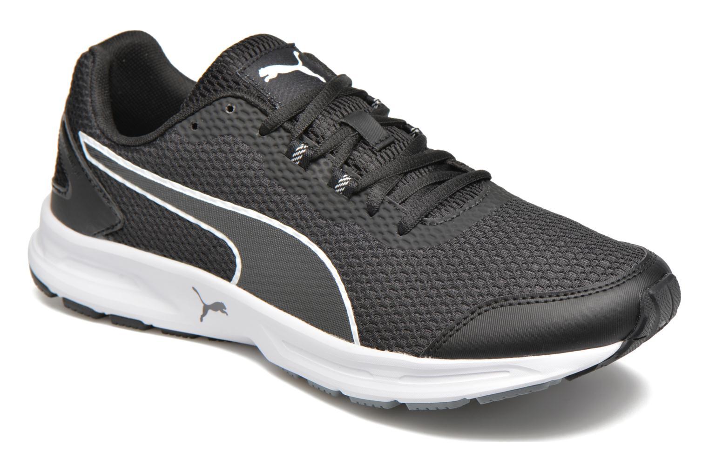 Chaussures de sport Puma Descendant V4 Noir vue détail/paire