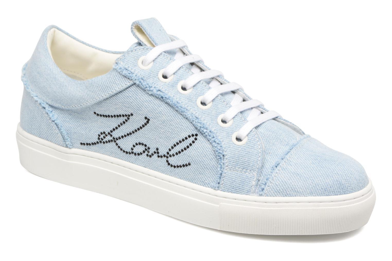 Karl Lagerfeld - Damen - Denim Sneaker - Sneaker - blau N8wxkBM