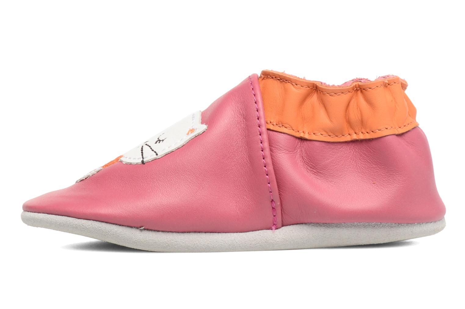 Chaussons Robeez Kitty Kat Rose vue face