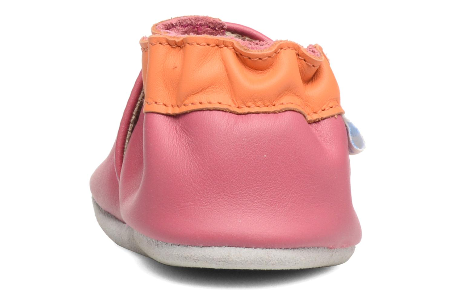 Chaussons Robeez Kitty Kat Rose vue droite