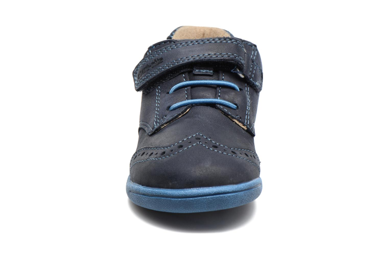 Chaussures à scratch Start Rite SR Super Soft Hugo Bleu vue portées chaussures