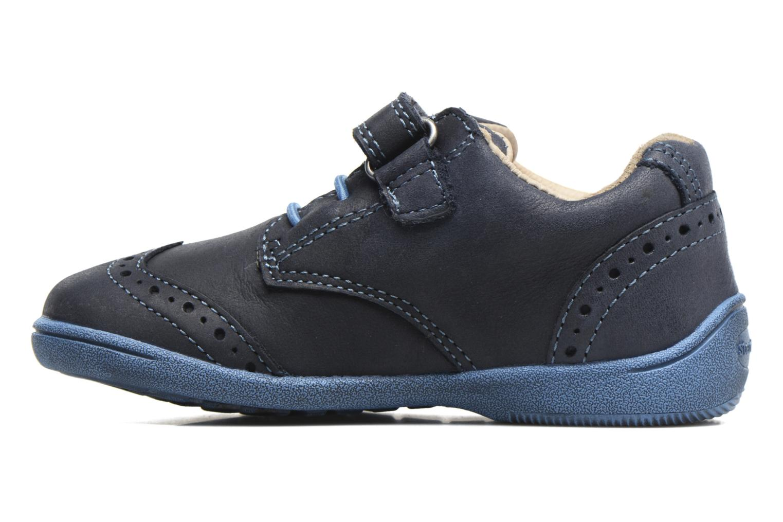 Chaussures à scratch Start Rite SR Super Soft Hugo Bleu vue face