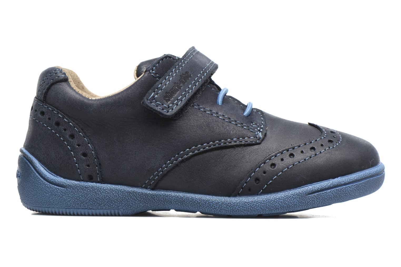 Chaussures à scratch Start Rite SR Super Soft Hugo Bleu vue derrière