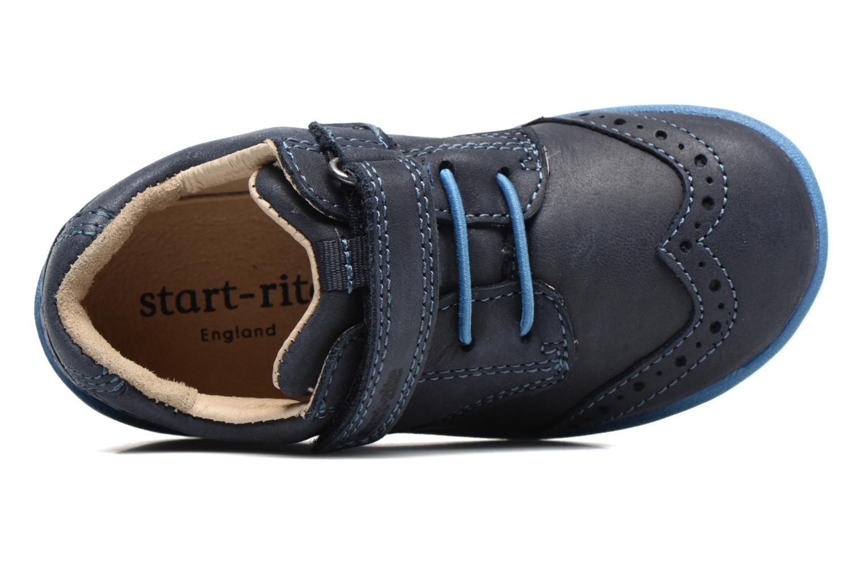 Chaussures à scratch Start Rite SR Super Soft Hugo Bleu vue gauche