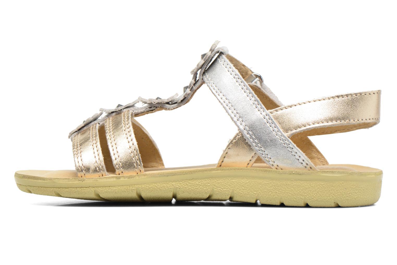 Sandales et nu-pieds Start Rite SR Soft Luna Argent vue face
