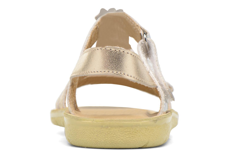 Sandales et nu-pieds Start Rite SR Soft Luna Argent vue droite