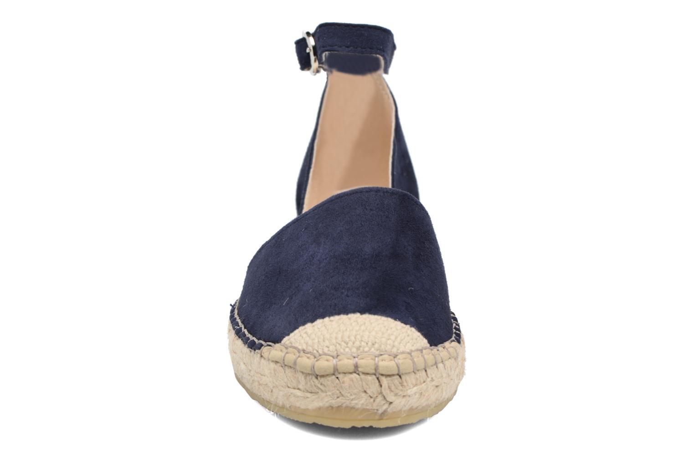 Espadrilles Georgia Rose Idalore Bleu vue portées chaussures