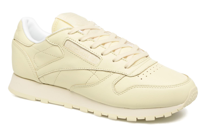 Zapatos promocionales Reebok Cl Lthr Pastels (Beige) - Deportivas   Cómodo y bien parecido