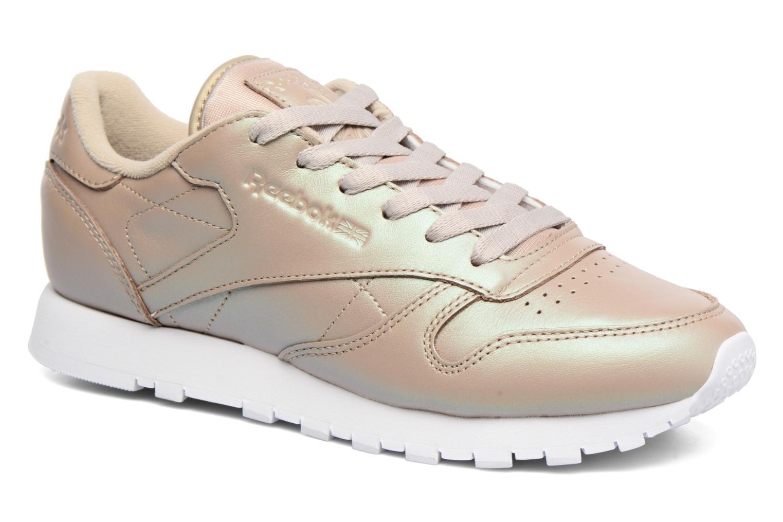 Zapatos promocionales Reebok Cl Lthr Pearlized (Oro y bronce) - Deportivas   Zapatos casuales salvajes