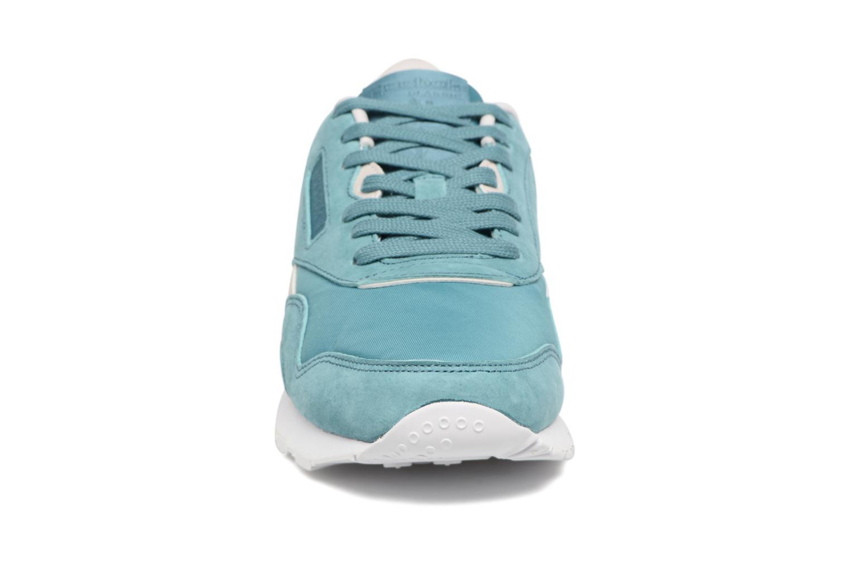 Baskets Reebok Cl Nylon X Face Bleu vue portées chaussures