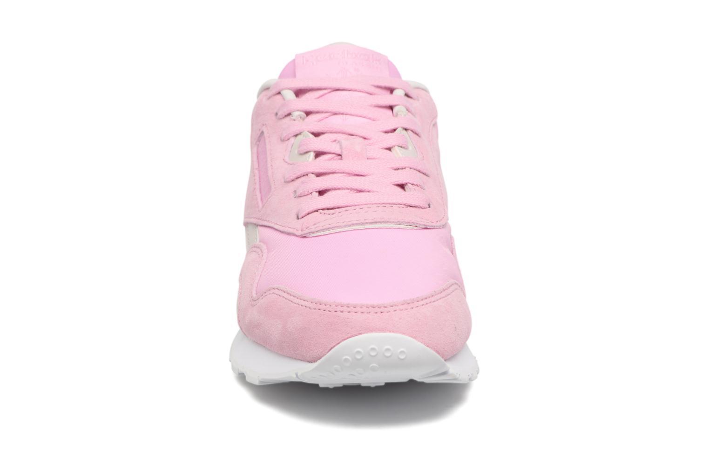 Baskets Reebok Cl Nylon X Face Rose vue portées chaussures