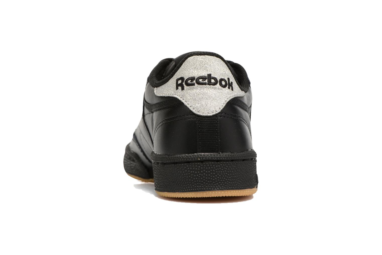 Baskets Reebok Club C 85 Diamond Noir vue droite