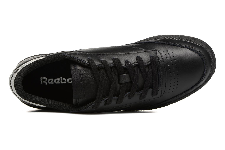 Baskets Reebok Club C 85 Diamond Noir vue gauche