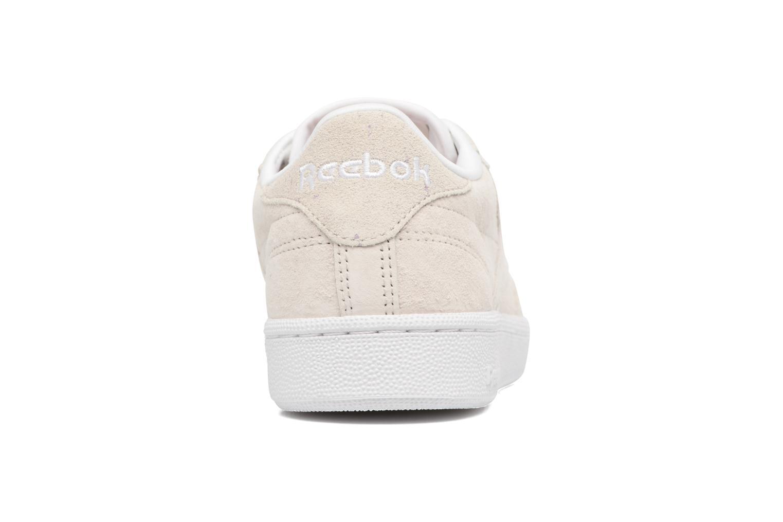 Baskets Reebok CLUB C 85 Hip Hop Beige vue droite