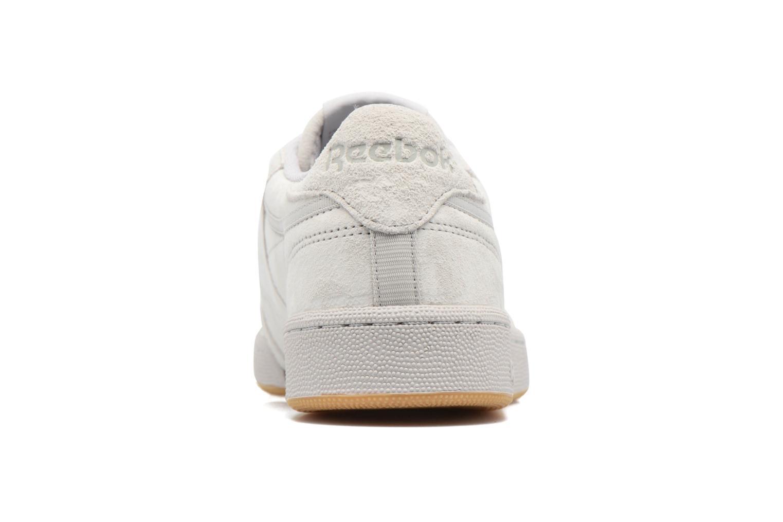 Sneaker Reebok Club C 85 Tg M beige ansicht von rechts