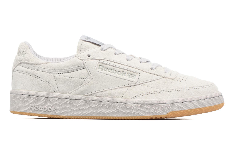 Sneaker Reebok Club C 85 Tg M beige ansicht von hinten