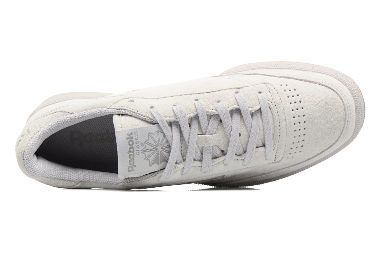 Sneaker Reebok Club C 85 Tg M beige ansicht von links