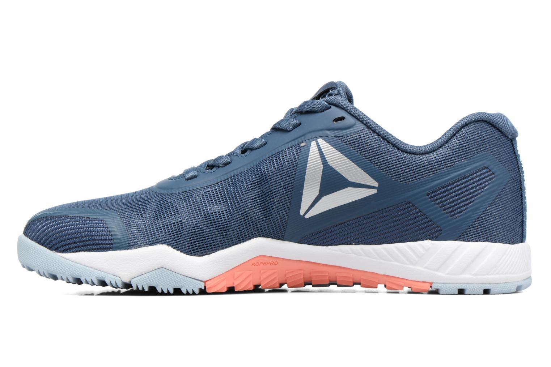 Chaussures de sport Reebok Ros Workout Tr 2.0 Bleu vue face