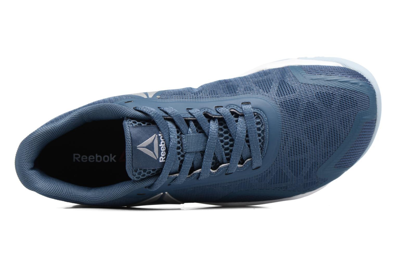Chaussures de sport Reebok Ros Workout Tr 2.0 Bleu vue gauche