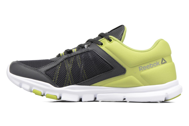 Chaussures de sport Reebok Yourflex Train 9.0 Mt Gris vue face