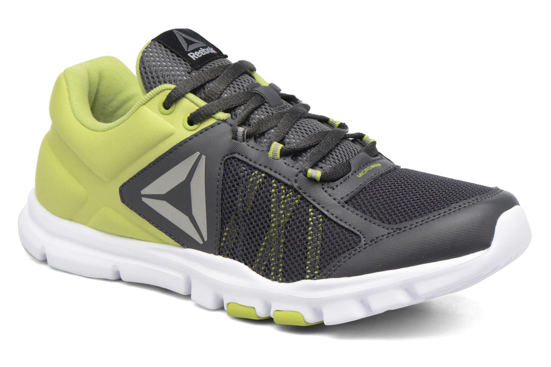 Chaussures de sport Reebok Yourflex Train 9.0 Mt Gris vue détail/paire