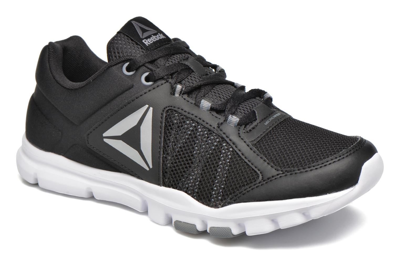 Chaussures de sport Reebok Yourflex Trainette 9.0 Mt Noir vue détail/paire