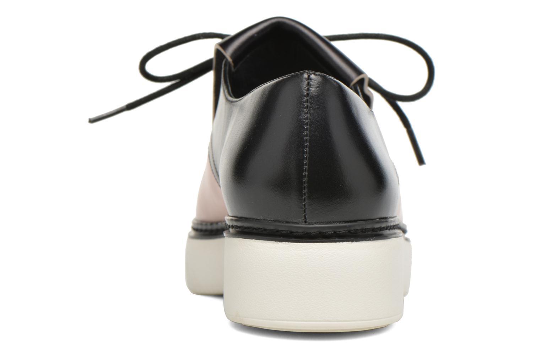 Chaussures à lacets What For Lily Noir vue droite