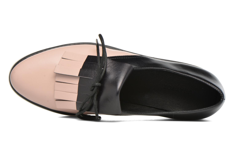 Chaussures à lacets What For Lily Noir vue gauche