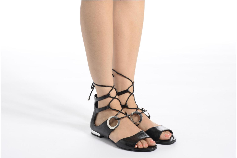 Sandales et nu-pieds What For Primrose Orange vue bas / vue portée sac