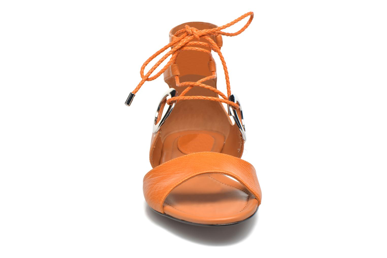 Sandales et nu-pieds What For Primrose Orange vue portées chaussures
