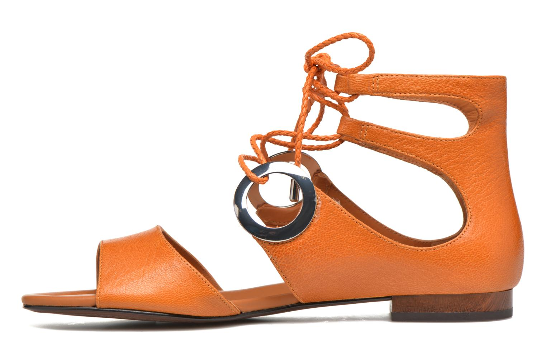 Sandales et nu-pieds What For Primrose Orange vue face