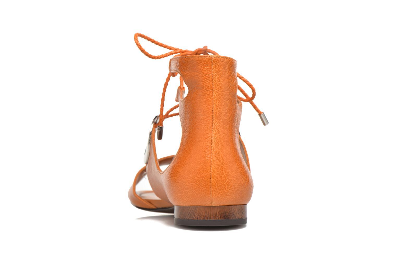 Sandales et nu-pieds What For Primrose Orange vue droite