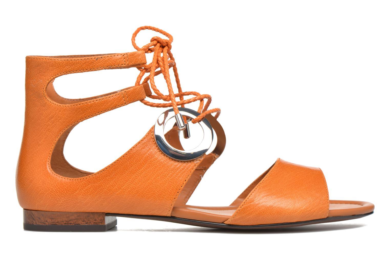 Sandales et nu-pieds What For Primrose Orange vue derrière