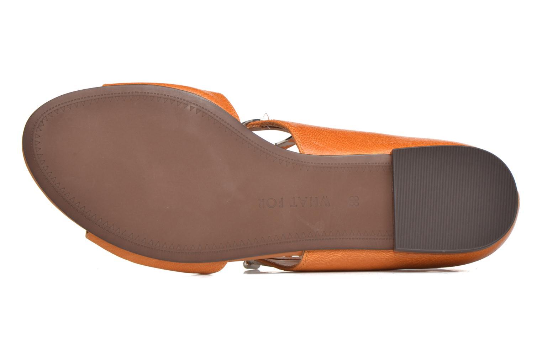 Sandales et nu-pieds What For Primrose Orange vue haut