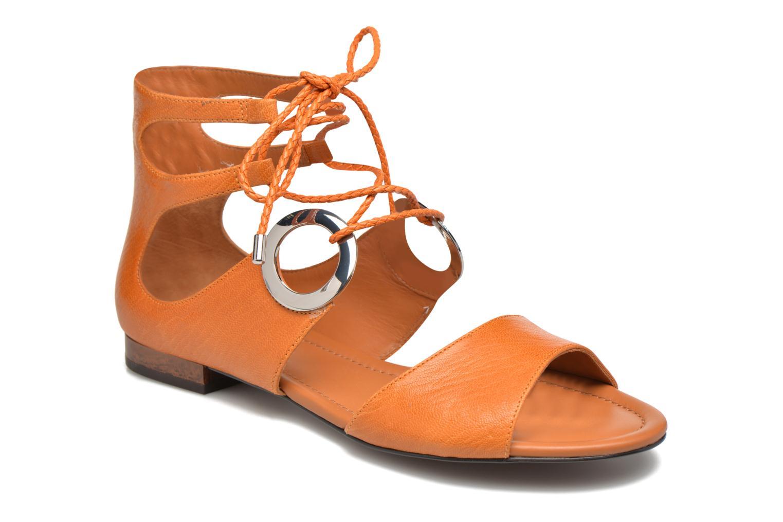 Sandales et nu-pieds What For Primrose Orange vue détail/paire