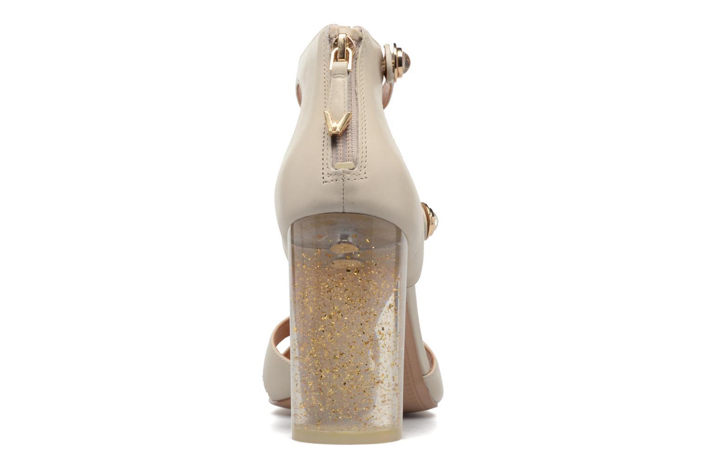 Sandales et nu-pieds What For Violet Beige vue droite