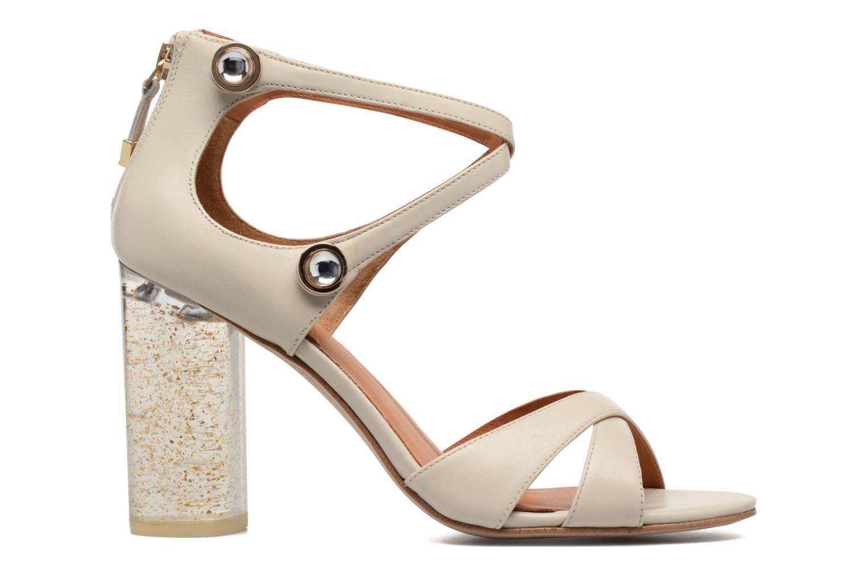 Sandales et nu-pieds What For Violet Beige vue derrière