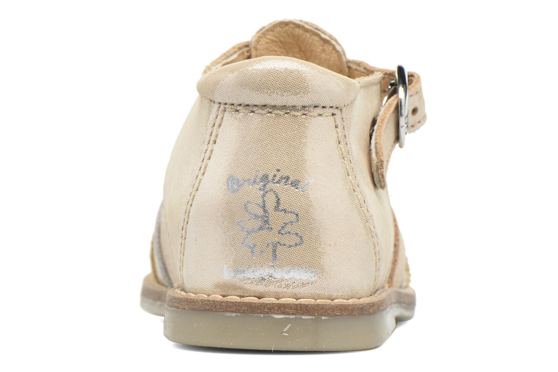 Sandales et nu-pieds Babybotte Teoxana Or et bronze vue droite