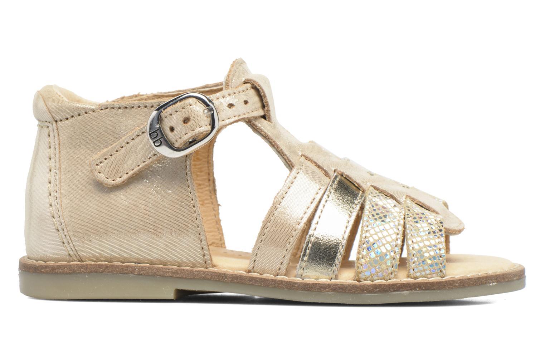 Sandales et nu-pieds Babybotte Teoxana Or et bronze vue derrière