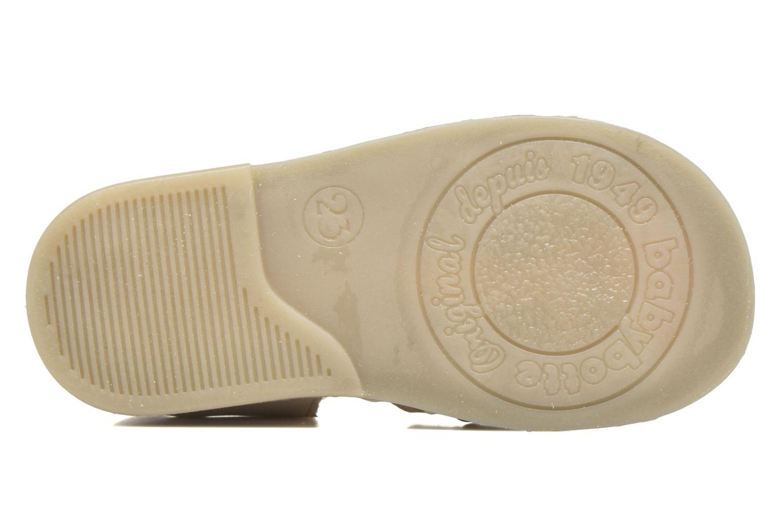 Sandales et nu-pieds Babybotte Teoxana Or et bronze vue haut